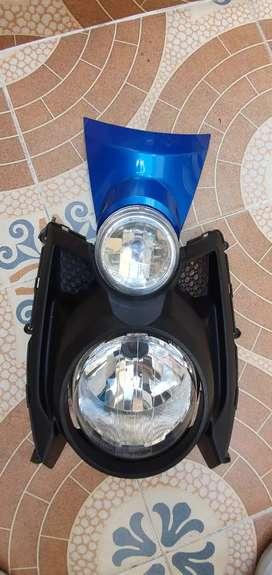 Frente de yamaha bws x impecable y espejos