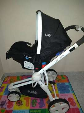 coche con huevito kiddy compass white