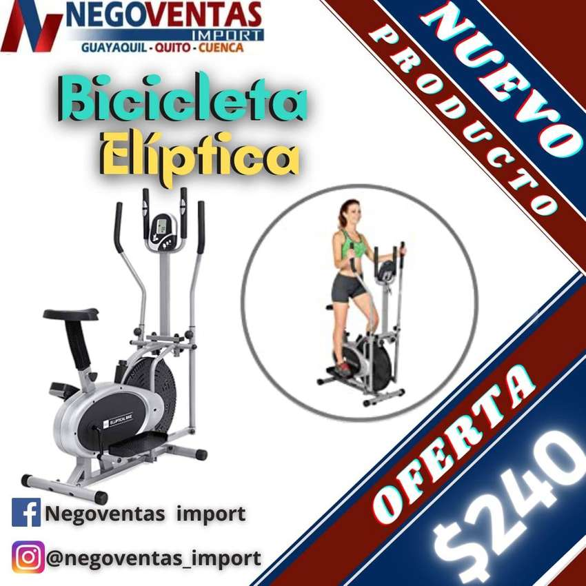 BICICLETA ELIPTICA PARA EJERCICIOS DE PIERNAS
