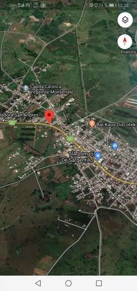 Vendo terreno km 47 via a Manabi canton Lomas de Sargentillo