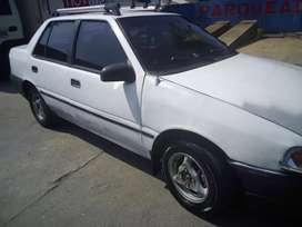 Vendo carro hyundai excel