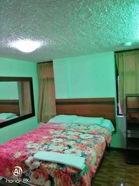 Alojamiento, habitaciones amplias amobladas, sur x mes