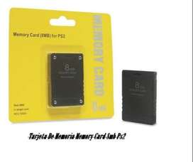 Tarjeta De Memoria Memory Card 8mb Ps2