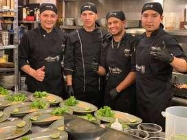 Alimar requiere cocineros con experiencia  Parrilla y/o Reposteria