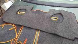 Dos Protector tapis de tablero Aveo