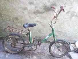 Cuadro/Bicicleta para niños antigua Luxe rodado 14
