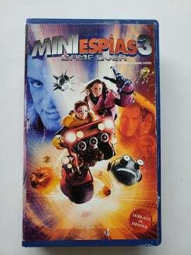 Vhs miniespias 3 game over mini espías original