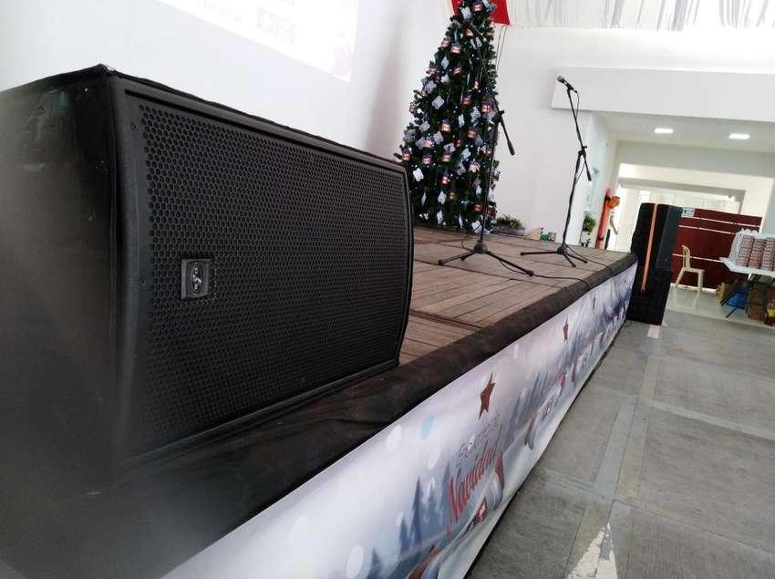 sonido y video beam para asambleas recidenciales 0