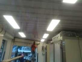 Promoción de cielos de baño en PVC $200 mil incluye panel led (Iluminación)