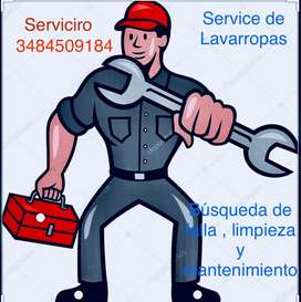 Service completo de lavarropas