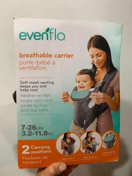 Cargador para bebés Evenflo unisex transpirable