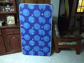 Colchón p/cama funcional (80 x 140 x 8) alta densidad