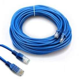 Cable De Red Ethernet Rj45 Cat6e 1.5m Azul
