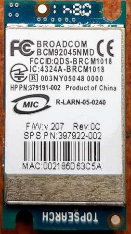 Tarjeta Inalambrica Bluetooth Adaptador Broadcom Bcm92045nmd