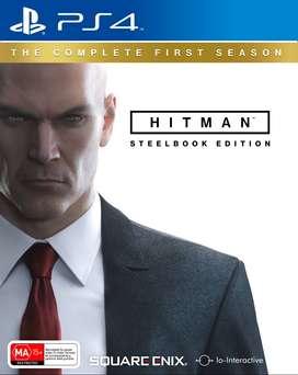 HITMAN THE COMPLETE FIRST SEASON STEELBOOK EDITION USADO JUEGOS PS4