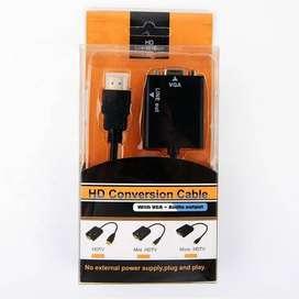 CONVERTIDOR HDMI A VGA MAS AUDIO