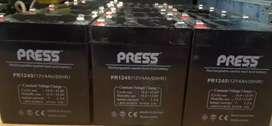 Batería PRESS PR1240  -12V - 4 Ah - lote por 16 unidades