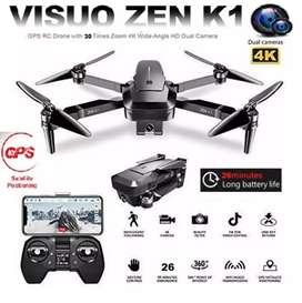 Drone visuo zen k1 gps camara 4k 26 minutos 500 m