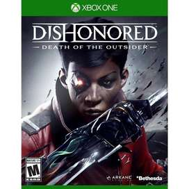 Dishonored Death Of The Outsider Xbox One, Físico