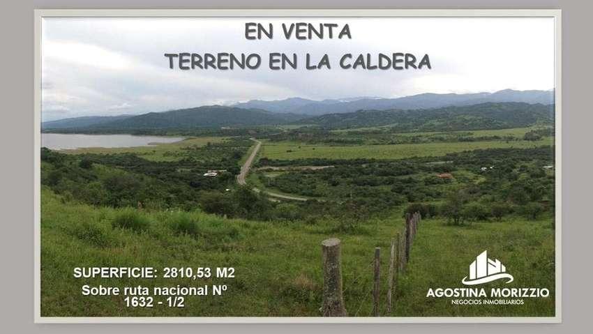 Vendo terreno de 2810 m2  en la  Caldera 0