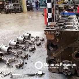 Reparación y armado de motores
