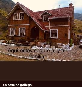 La casa de gallego alojamiento los alpes pueblopance
