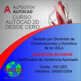 CURSO DE AUTOCAD 2D