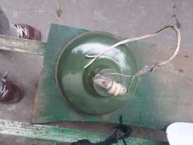 Lámpara galponera enlazada