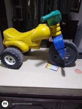 Moto montable niño