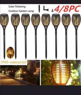 Lámparas solares *promoción* aproveche