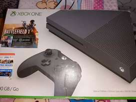 XBOX ONE S EDICIÓN BATTLEFIELD PERFECTO ESTADO