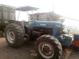 Vendo tractor ford ingles 7610 año 91
