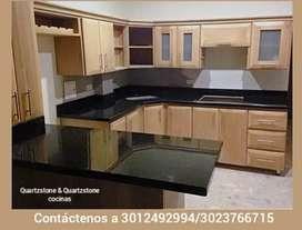 Fabricación y mantenimiento de cocinas y mesas para baños.