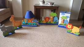 Set de decoración de alcoba para bebe