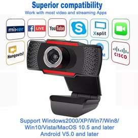 Webcam para PC clases virtuales nuevo