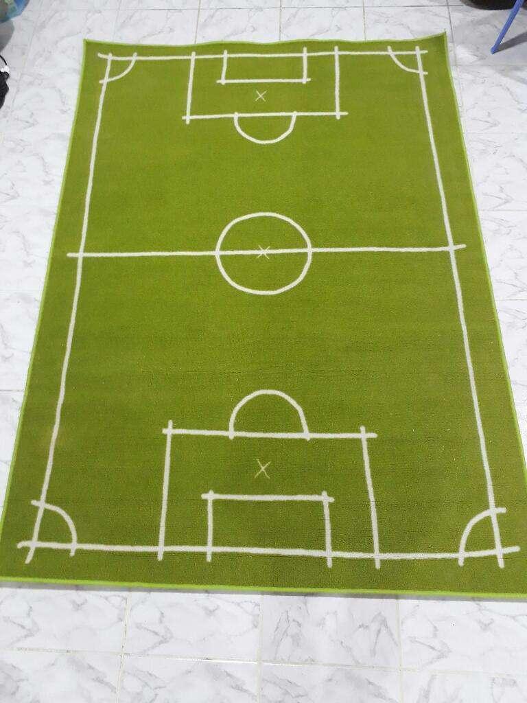 Alfombra Cancha de Futbol 2x1.40m 0
