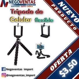 TRIPODE FLEXIBLE DE CELULAR EN OFERTA ÚNICA DE NEGOVENTAS