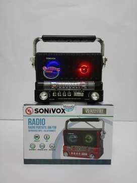 Radio sonivox, ref VS-R2211, nuevo y garantizado.