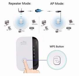 Repetidor De Señal Wifi Amplificador 802.11 Ap 300 Mbps