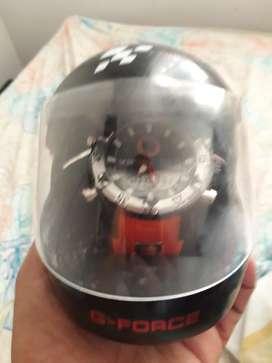 Reloj Gforce Motogp Estuche de Casco
