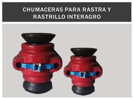 Chumaceras Interagro Rastra Y Rastrillo