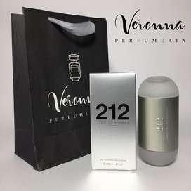 Perfume 212 Carolina Herrera New York Dama 100ml Veronna