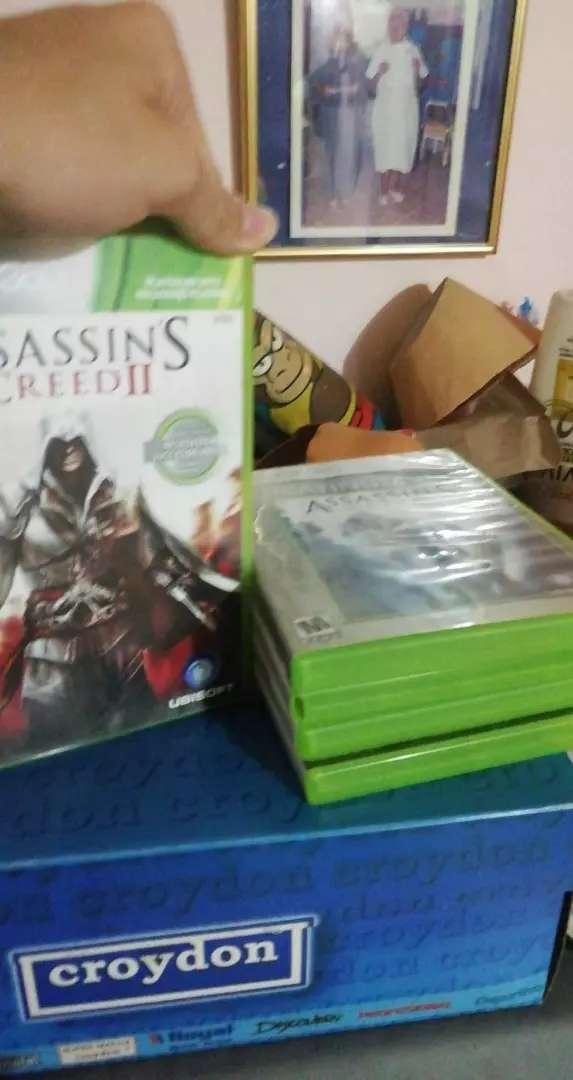 5 Juegos de Assasin's Creed Originales en buen estado para Xbox 360 0