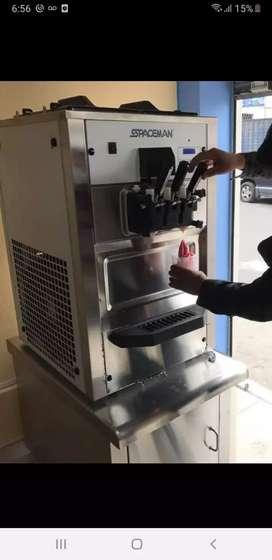 Vendo máquina para helados