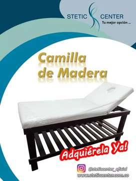 Camilla de Madera