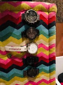 Relojes diesel diferentes referencias, todos en perfecto estado !!