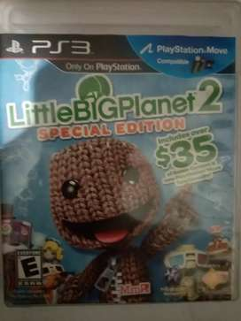 Little BIG Planet 2 /ps3/psMove/special edition