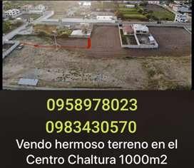 Vendo terreno sector CENTRO de CHALTURA