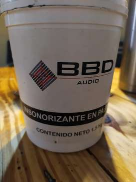 Pasta insonorizante bbd audio