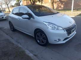 peugeot 208 pack cuir 2016 impecable! 30000 km